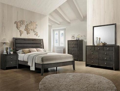 B4720 Evan Grey 5Pc. Queen/ King Bedroom Set