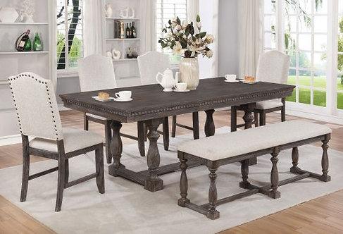 D2270 | Grey Regent 5pcs Dining Set