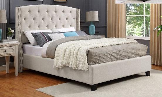 5111 Ivory Eva Queen Size Bedframe