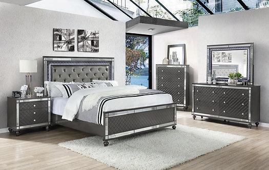 B1670 Refina Bedroom Suite, King or Queen