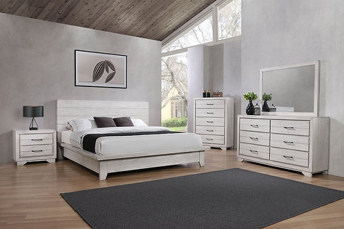 B8260 White Sands Bedroom Suite, King or Queen