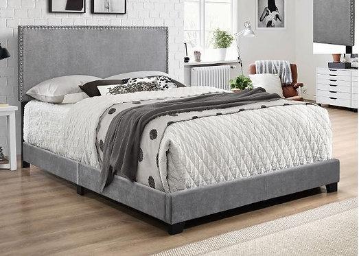 5271 Erin Grey Velvet Bedframe