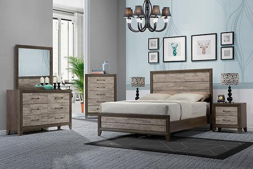 B3300 Jaren Bedroom Suite, King or Queen