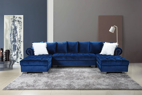 Kim Blue Sectional