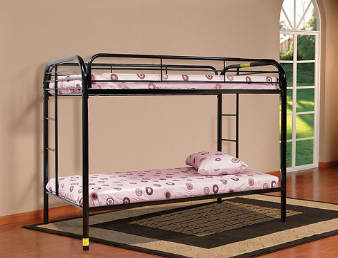 8025BK - Twin/Twin Metal Bunk Bed