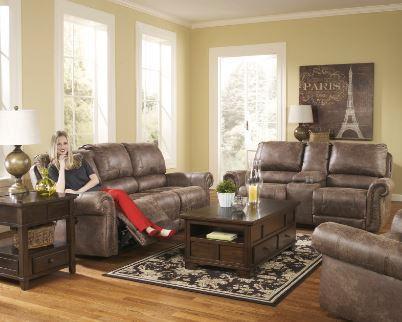 Ashley Tan 3 Pc. Motion Sofa Set