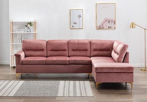 Vogue Pink Velvet