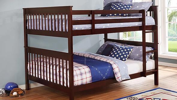 B81-CP Full/Full Bunk Bed