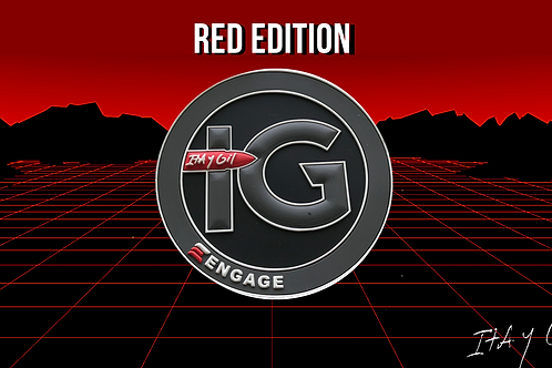 Engage Morale Patch (Red Edition)