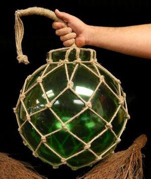 Green Glass Floats