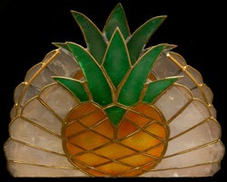 Capiz Fruit Napkin Holder