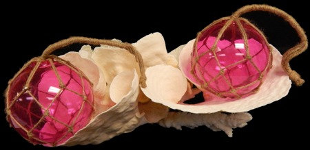 Pink Glass Floats (EA)