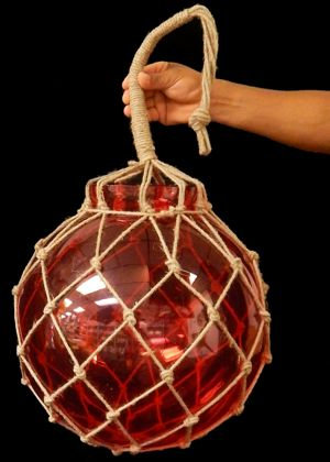 Red Glass Floats