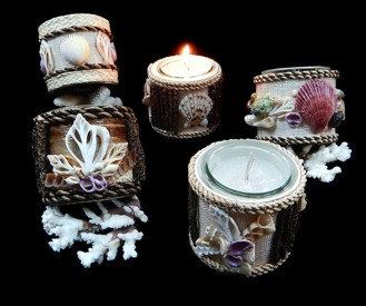 Assorted Shell Candles