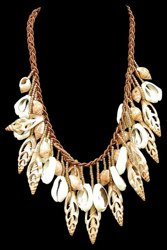 Center Cut Shell Necklace