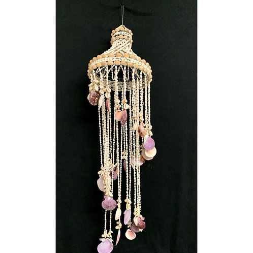 Stairway Chandelier with Assorted Shells