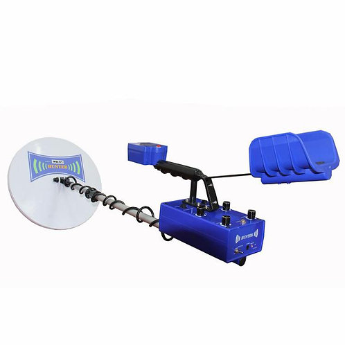 Long range ground metal detector with high performance