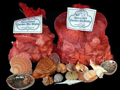 Garden Mixed Shells (10 lb bag-large)