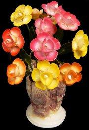 Barnacle Base w/ Several Cay Cay Flowers (EA)