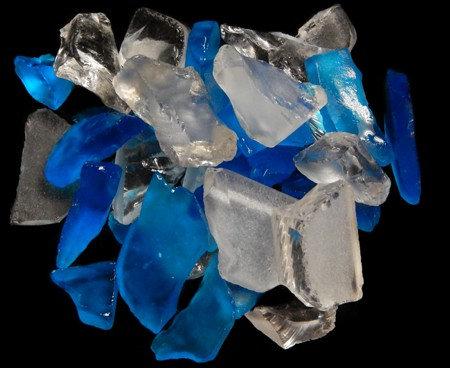 "Light Teal Sea Glass (1/2"" - 1 1/2"")"