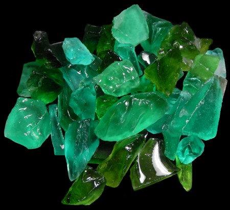 """Emerald Sea Glass (1/2"""" - 1 1/2"""")"""