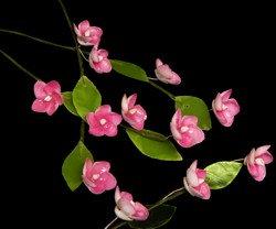 Red Petals Flower Stem (DZ)