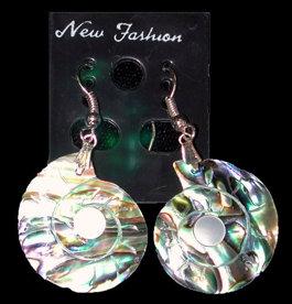 Paua Nautilus Earrings