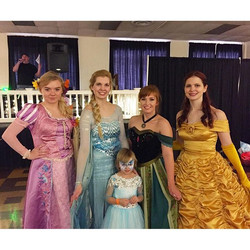 We had a magical time at Claire's Winter Wonderland Birthday Ball! So many people donated their time