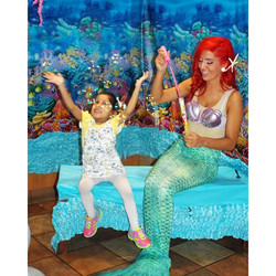 It's a little late, but happy #InternationalMermaidDay from #PartTimePrincesses! 🌊 ✨🐠#SpreadingHap