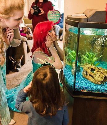 Ariel Princess Birthday Party Kid Little Mermaid