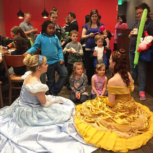 Having a magical time at the grand opening of _ihop in Pasadena! 👑✨ #PartTimePrincesses #SpreadingH