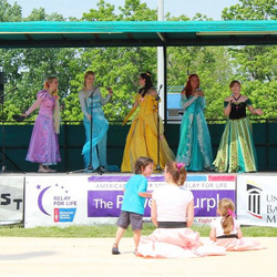 Our first stage performance! We had such a great time at Relay For Life! #RelayForLife #PartTimePrin