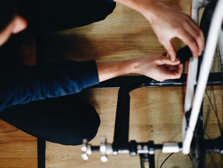 Ser objetivos con el entrenamiento en rodillo.