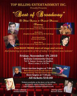 Best of Broadway 2010