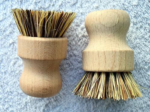 Biodegradable Bamboo Sisal Brush