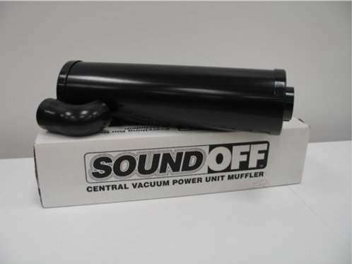 Beam Sound-Off Vacuum Muffler