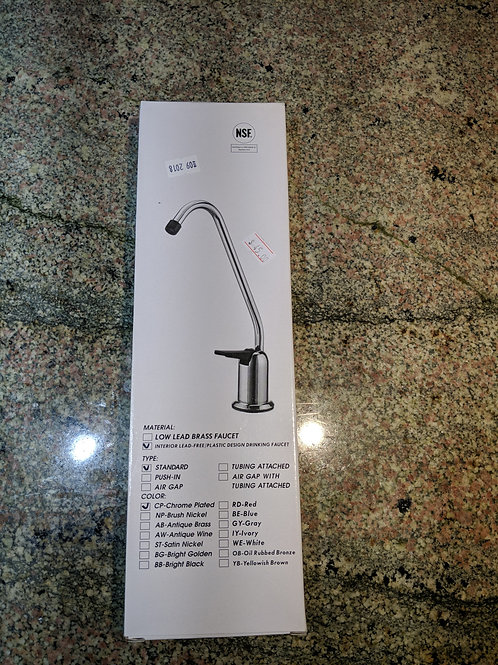 Lead free water filter faucet