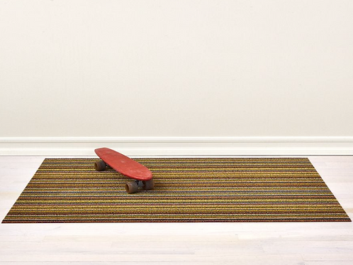 Skinny Stripe Shag Mat (Bright Multi)