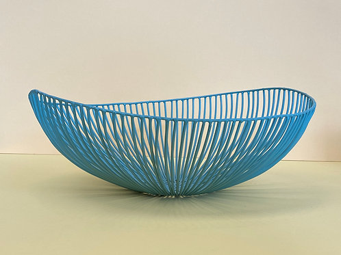 Blue Wire Bowl