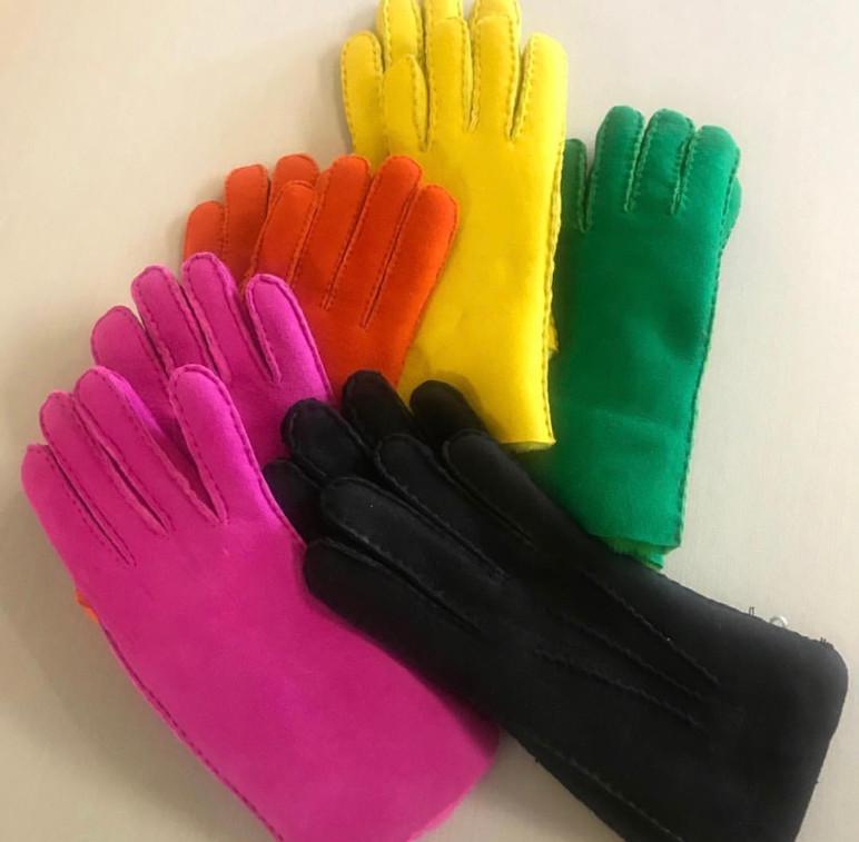 Rainbow Gloves