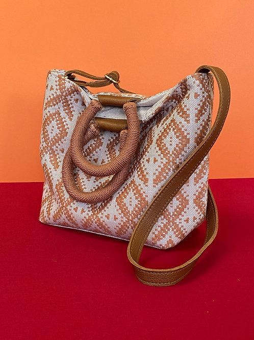 Hand Woven Patterned Pocketbook
