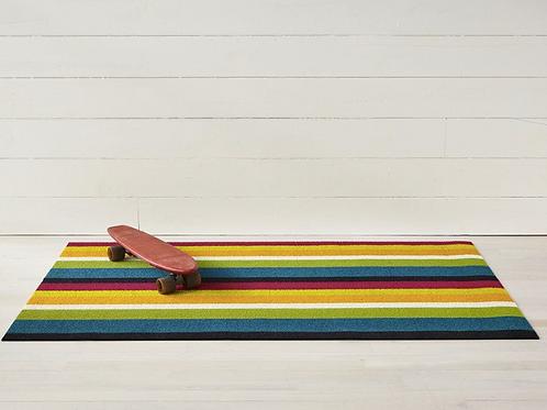 Bold Stripe Shag Mat (Multi)