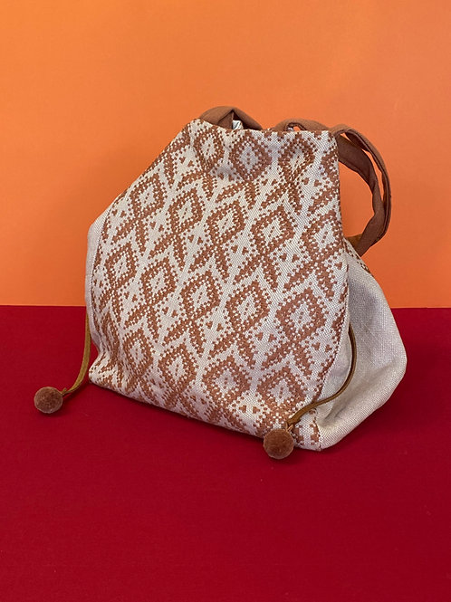 Hand Woven Patterned Bag
