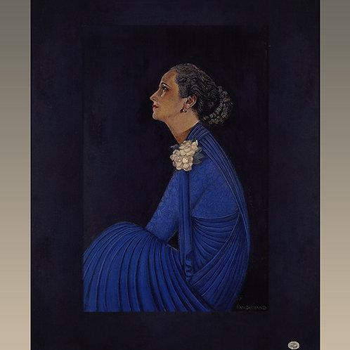 """""""Portrait de Madame Agnès""""  Jean Dumanh (1877-1942)"""