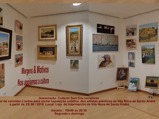 Exposição Colectiva Belas Artes Biblioteca Municipal Manuel José do Tojal, 03 de Janeiro a 31 de Jan