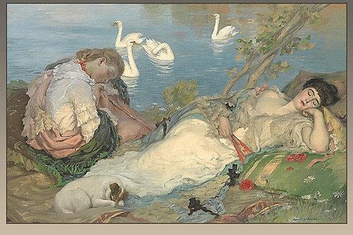 """""""Endormies"""", C,1904  Rupert Bunny"""