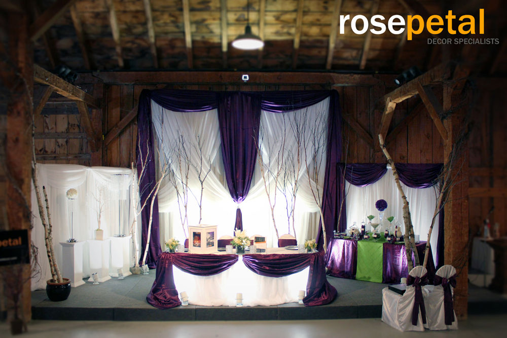 rosepetal decor specialists white tree branch centerpieces white birch tree centerpieces