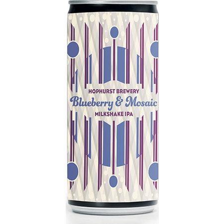 Hophurst Brewery Blueberry & Mosaic Milkshake IPA