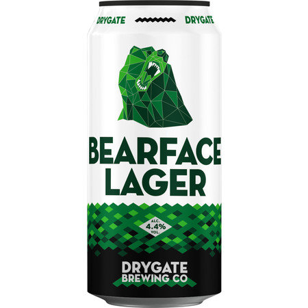 Drygate Brewing Company - Bearface Lager 4.4%