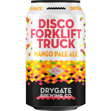 Drygate Brewing Company - Disco Forklift Truck